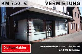 PLZ 48429 - Obj-Nr. 928 - Gewerbeobjekt mieten in Rheine