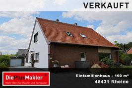 PLZ 48431 - Obj-Nr. 820 - Einfamilienhaus in Rheine