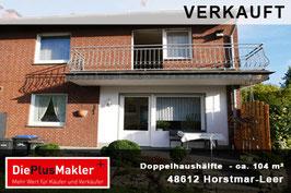 PLZ 48612 - Obj-Nr. 810 - Doppelhaushälfte in Horstmar-Leer