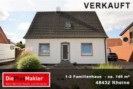 PLZ 48432 - Obj-Nr. 844 - 1-2 Familienhaus in Rheine