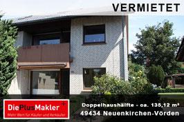 PLZ 49434 - Obj-Nr. 891 - Doppelhaushälfte in Vörden