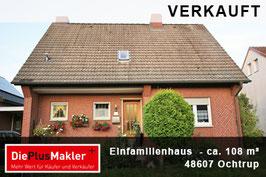 PLZ 48607 - Obj-Nr. 848 - Einfamilienhaus in Ochtrup