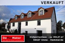 PLZ 59427 - Obj-Nr. 912 - Einfamilienhaus in Unna-Hemmerde