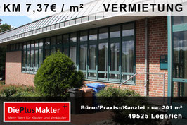 PLZ 49525 - Obj-Nr. 889 - Büro / Praxis/ Kanzlei mieten in Lengerich