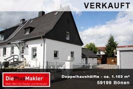 PLZ 59199 - Obj-Nr. 881 - Doppelhaushälfte in Bönen