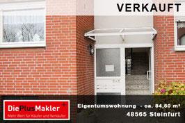 PLZ 48565- Obj-Nr. 824 - Wohnung kaufen in Steinfurt