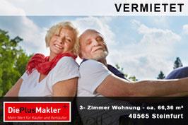VERMIETET - PLZ 48565 - Obj-Nr. 805 - Wohnung mieten in Steinfurt