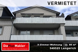 PLZ 49525 - Obj-Nr. 831 - Wohnung mieten in Lengerich