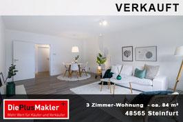PLZ 48565 - Obj-Nr. 856 - 3-Zimmer Wohnung