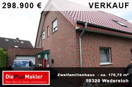 PLZ 59329 - Obj. 806 -  Zweifamilienhaus in Wadersloh