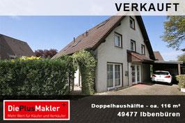 PLZ 49477 - Obj-Nr. 839 - Doppelhaushälfte in Ibbenbüren