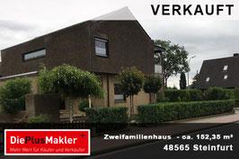 PLZ 48565 - Obj-Nr. 852- Zweifamilienhaus in Steinfurt-Borghorst