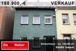 PLZ 59065 - Obj-Nr. 906 - Reihenhaus  in Hamm