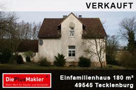 VERKAUFT - 661 - 49545 - Haus kaufen in Tecklenburg / Region Osnabrück