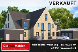 PLZ 48231- Obj-Nr. 778 - Wohnung kaufen in Warendorf