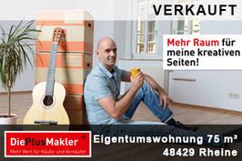 PLZ 48429 - OBJ-NR. 654 - Wohnung kaufen in Rheine / Region Steinfurt