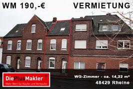 PLZ 48429 - Obj-Nr. 923 - WG-Zimmer mieten in Rheine