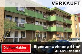 VERKAUFT - 664 - 59755 - Wohnung kaufen in Rheine/ Region Steinfurt - 664