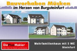 Steinfurt - Mehrfamilienhaus mit 5 Eigentumswohnungen