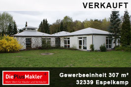 PLZ 32339 - OBJ. NR. 677 - Gewerbeobjekt kaufen in Espelkamp / Region Minden