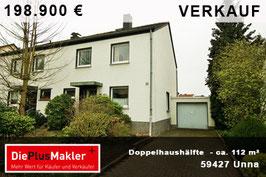 PLZ 59427 - Obj-Nr. 829 - Doppelhaushälfte in Unna