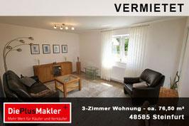 PLZ 48565 - Obj-Nr. 763 - Wohnung mieten in Steinfurt