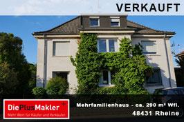PLZ 48431 - Obj-Nr. 842 - Mehrfamilienhaus in Rheine