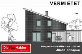 PLZ 48480 - Obj-Nr. 903 - Doppelhaushälfte in Schapen