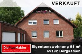 VERKAUFT - 562 - 59192 Bergkamen - Wohnungsverkauf
