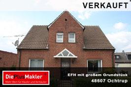 PLZ 48607 - Obj-Nr. 882 - Einfamilienhaus mit großem Grundstück in Ochtrup
