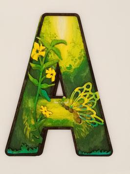 Alphabet décoratif : thème Fée