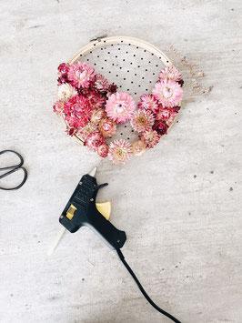 Tambour fleuri