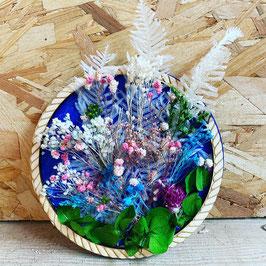 Médaillon de fleurs