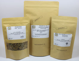 3er Spar - Paket - Mandelkrume, Knuspermüsli, Keto-Waffeln
