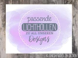 Passende Lichthüllen zu all unseren Designs (2er-Set)