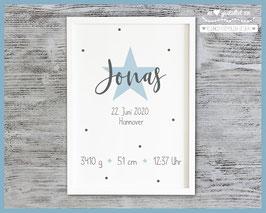 Geburtsbild Stern Jonas