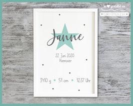 Geburtsbild Stern Janne