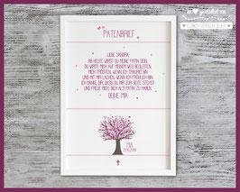 Patenbrief Lebensbaum Mia