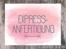Express-Anfertigung