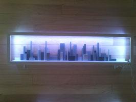 "wallcity's: applique murale ""the city"""