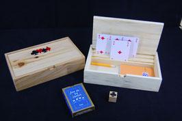 coffret à jeu de cartes