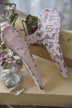Ailes d'ange 15 cm - VIEUX ROSE / Jeanne d'Arc Living
