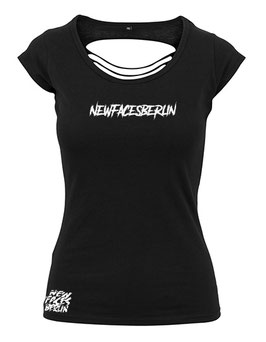 New Faces Berlin Black Pearl girly Shirt
