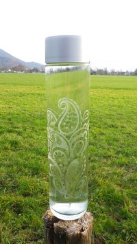 Wasserflasche Paisley