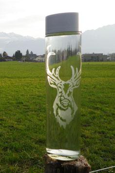 Wasserflasche Hirsch