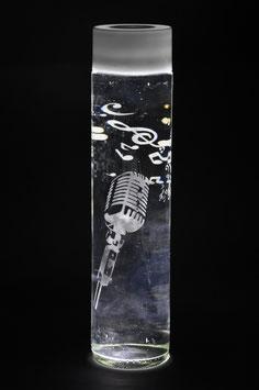 Wasserflasche Mikrofon