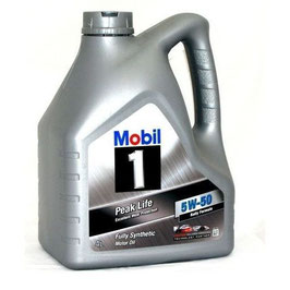 Mobil 1 Peak Life 5W-50 engine oil - 4l