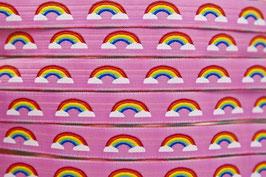 Rainbow pink, 15 mm