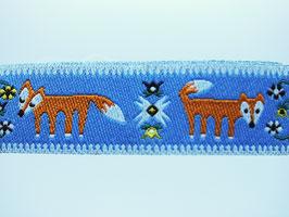 Füchse blau, 15 mm