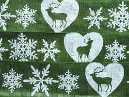 Hirsch grün, 25 mm